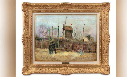 Van Gogh'un ilk kez sergilenen eseri Montmartre 70 milyon TL'ye açık arttırmada