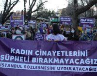 """Kadınlar ülke genelinde eylemde: """"Kadın cinayetlerini şüpheli bırakmayacağız"""""""