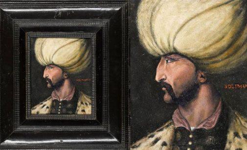 Gizemli alıcı 5 milyon liraya aldığı Kanuni portresini İBB'ye bağışladı
