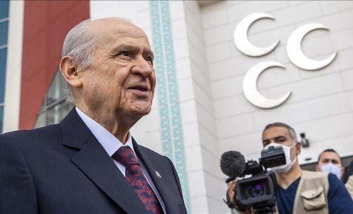 Devlet Bahçeli: Kıbrıs Türk devleti ufukta görünmüştür, ok yaydan çıkmış geriye dönüş yolu kapanmıştır