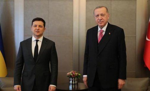 Erdoğan, Zelinsky ile görüştü: Karadeniz'deki kriz diplomatik yöntemlerle çözülmeli