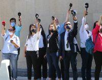 """Gazeteciler aşılanıyor: TGS'den """"Basın kartı şartı aranmadan tüm gazetecileri kapsamalı"""" açıklaması"""