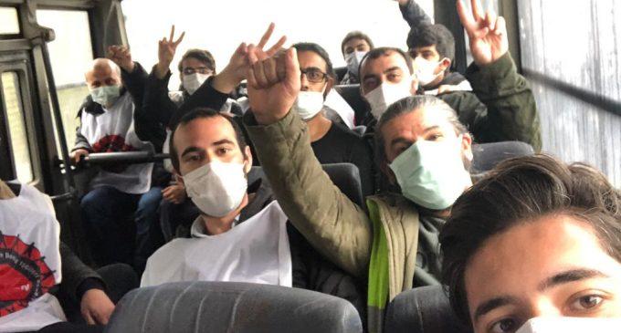Hak arayan Migros işçileri ve Kod 29'a karşı mücadele eden işçilere polis saldırdı