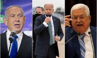 Joe Biden, Filistin Devlet Başkanı Abbas ve İsrail Başbakanı Netanyahu ile görüştü