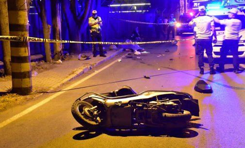 Üniversite öğrencisi moto kurye yaşamını yitirdi