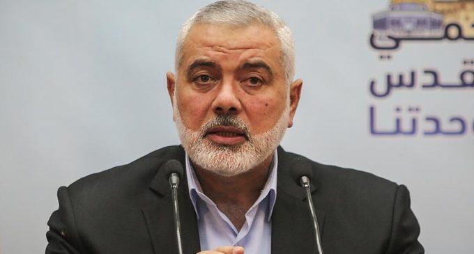 Hamas lideri Heniyye: Mescid-i Aksa'ya el sürmemesi konusunda düşmanı defalarca uyardık