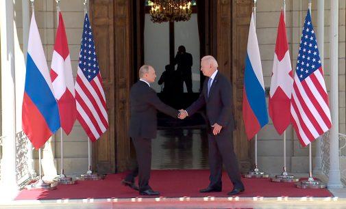 Tarihi zirve sonrası Putin ve Biden'dan ortak bildiri