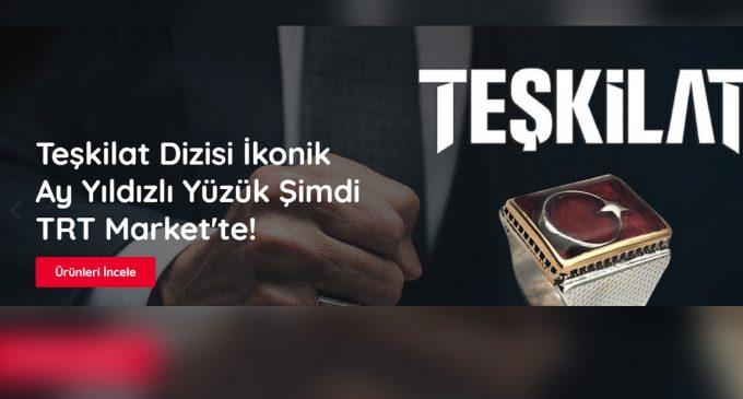 """TRT market işine girdi: """"Lisanslı"""" Ertuğrul Gazi oyuncağı, Diriliş Ertuğrul Yüzüğü.."""