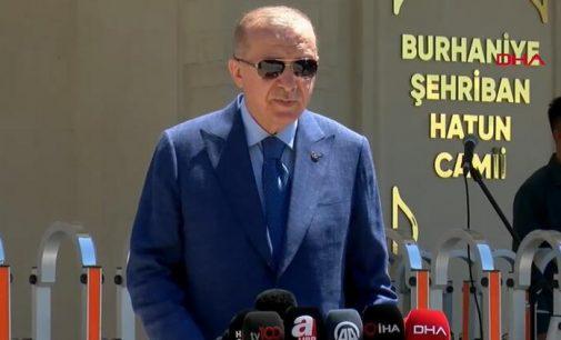 Erdoğan'dan Biden'la gerçekleştireceği görüşmeye dair açıklama