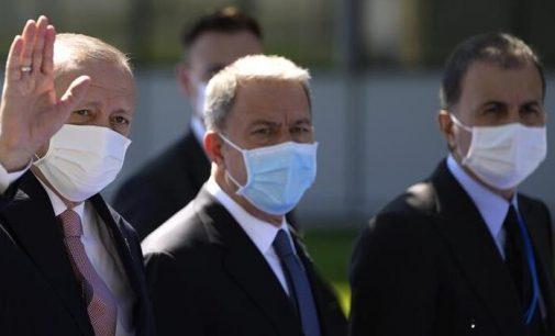 Erdoğan, Liderler Zirvesi için NATO karargahında