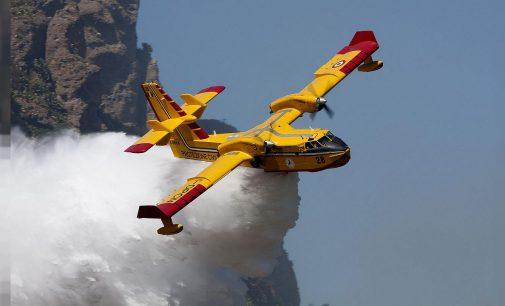 """Pakdemirli """"envanterimizde yok"""" demişti: Türkiye, Yunanistan'a iki yangın söndürme uçağı gönderiyor!"""