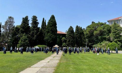 Boğaziçi Üniversitesi'nde akademisyenlerin nöbeti 222'nci gününde