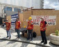 """Galataport'ta direnen işçilerin zaferi: """"Firma yetkilileriyle görüşmede anlaşma sağlandı"""""""