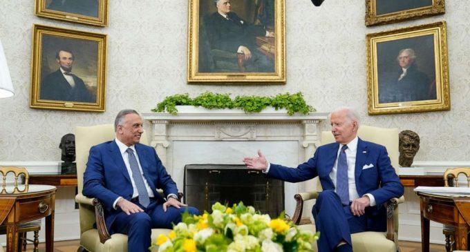 Biden: ABD ordusu Irak kuvvetlerini eğitmeyi ve IŞİD'le mücadeleyi sürdürecek