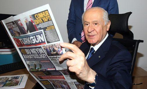 Kamu bankalarından en fazla reklamı alan MHP'nin gazetesinde çalışanların maaş isyanı