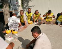 Maden işçilerinin Ankara kapısındaki bekleyişi sürüyor: Ölmek var dönmek yok
