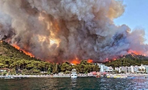 Marmaris ranta teslim: Yangından beş gün sonra otel için ÇED raporu verilmiş