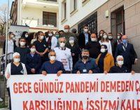 70 yıldır hizmet veren hastane kapatıldı: Gece gündüz pandemi demeden çalıştık karşılığında işsiz mi kaldık?