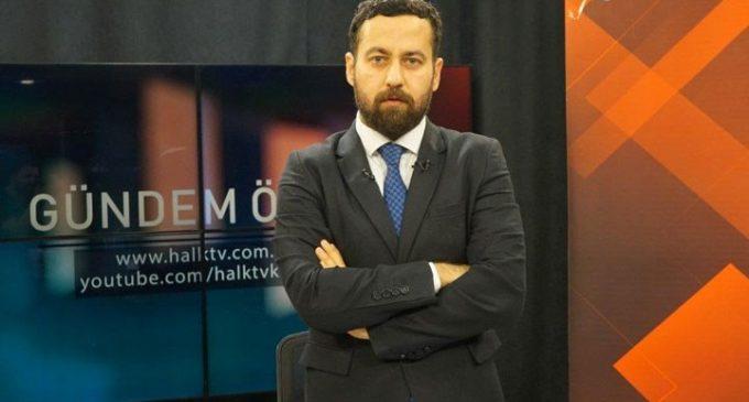 Halk TV sunucusu Can Coşkun saldırıya uğradı