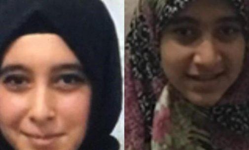 Dolaşmak için evden çıkan iki kız kardeş kayıp