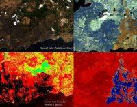 Yanan ormanlar uzaydan görüntülendi: 85 bin futbol sahası büyüklüğünde!