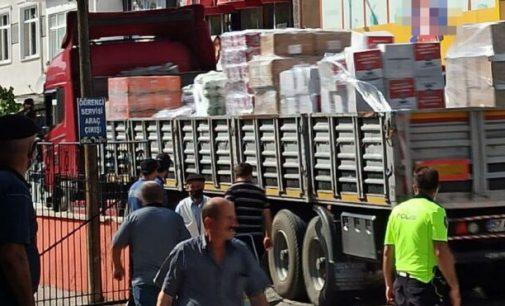 Skandal iddia: Selzedelere gönderilen yardımlar selin uğramadığı Gerze'de partililere dağıtıldı