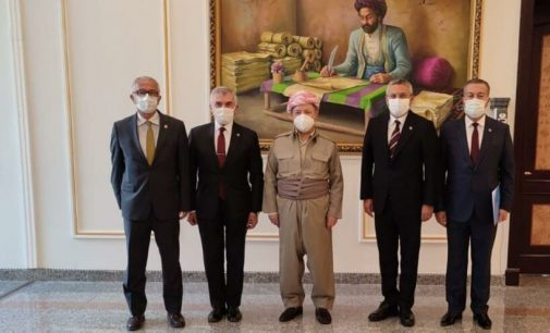 CHP heyeti Barzani ile görüştü: Sürekli iyi ilişkiler arzuluyoruz