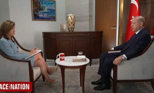"""ABD'li gazetecinin """"hakaret davaları"""" sorusuna Erdoğan'dan yanıt: Siz bunlara inanıyorsunuz yani?"""