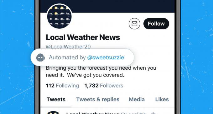 Twitter otomatik paylaşım yapan bot hesapları ifşa edecek