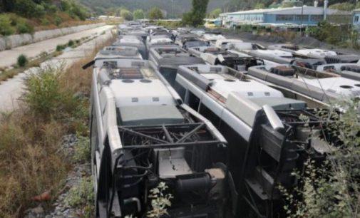 İBB paylaştı: AKP döneminde Hollanda'dan alınan metrobüsler hurda oldu