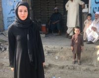 Nagehan Alçı, Afganistan'a gitti