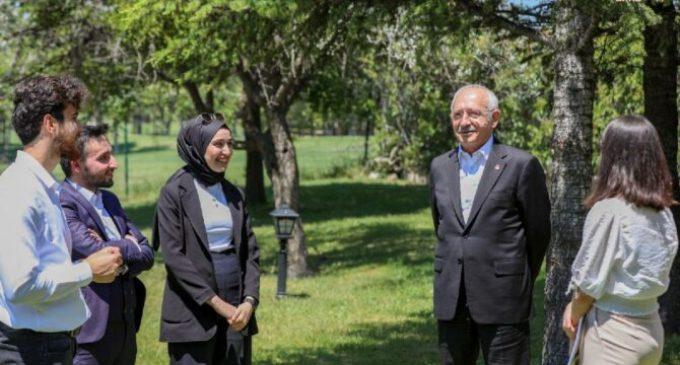 Kılıçdaroğlu'ndan gençlere yeni vaat: Hayat enerjinizi geri vereceğim
