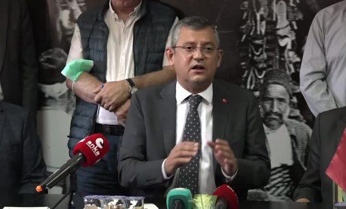 CHP'li Özel: Üç harfli marketleri, AVM'leri şehir dışına yollayacağız
