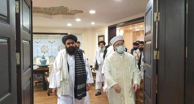 Taliban heyeti Ankara'da: Çavuşoğlu resmi görüşmelere besmeleyle başladı