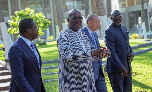 Erdoğan, Togo, Liberya ve Burkina Faso cumhurbaşkanları ile görüştü
